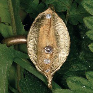 Individueller Ring aus ökofairem Gold | Ökofaires Gold, recycelte Diamanten | Anina Caracas