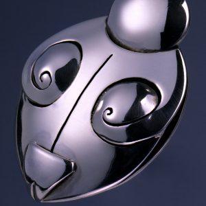 Unikat Schmuck aus Düsseldorf | Amulett Venus | Silber | Anina Caracas